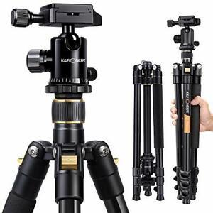 "Camera Tripod, 62"" Compact Light Aluminium Tripod with Quick Release"