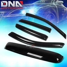 FOR 08-11 FORD FOCUS 4DR SMOKE TINT WINDOW+SUN/MOON ROOF VISOR SHADE/DEFLECTOR