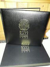 Royal Mail en Cuir Bound 2001 Year Book in box RARE
