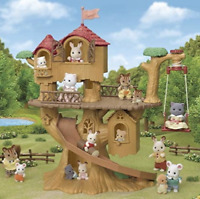 SYLVANIAN FAMILIES - Adventure Tree House Playset **NEW**