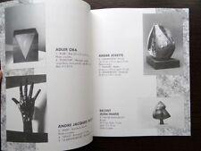 Catalogue de vente Sculpture contemporaine XXe siecle