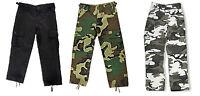 KIDS Cargo Pants BDU Style Boys Girls Military Army USMC Child Hunting Camping
