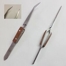 TWEEZERS REVERSE ACTION FOR MODEL MAKING TRAINS CRAFTS JEWELLERY FINE PRECISION