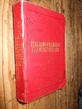 Nuovissimo Dizionario Tascabile Italiano-Francese Fr-It. Bietti 1912 L5