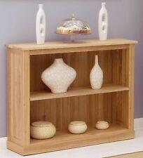 Mobel solid modern oak furniture low office bookcase