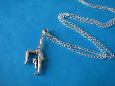 GYMNASTICS NECKLACE Gymnast Handstand Gymnastic Sport  HANDMADE Charm Necklace