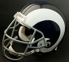 "DAVID ""DEACON"" JONES Edition LOS ANGELES RAMS Riddell REPLICA Football Helmet"