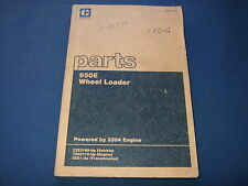 CAT CATERPILLAR 950E WHEEL LOADER PARTS BOOK MANUAL S/N 22Z3189-UP