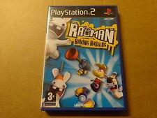 PS2 GAME / RAYMAN: RAVING RABBIDS (PLAYSTATION)