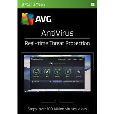 AVG AntiVirus 2017 3 Users 2 Years [Online Code]