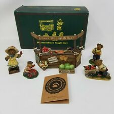 Boyds Bloomenshine's Veggie Mart Village Accessory with Original Box
