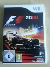 Nintend Wii  F1 2009  Formula 1 Game. By Codemasters. Grand Prix Racing Game
