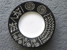 Brown Mid-Century Modern Date-Lined Ceramics