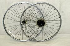 """Araya 26"""" MTB Wheels 30mm 124OLW Clincher Joytech Hubs SunTour Cassette Charity"""