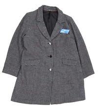 Marks & Spencer Womens Size 22 Wool Blend Geometric Multi-Coloured Coat