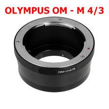 Olympus OM - M4/3 Micro MFT Objektivadapter OM Objektiv Lens an Panasonic Lumix