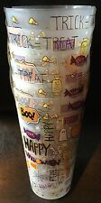New Set Of 6 Reusable Plastic 24oz Halloween Tumblers Cups Kitchen Tableware