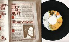 LILIANE SAINT PIERRE MARTINE MORGAN 45 TOURS BELGIQUE