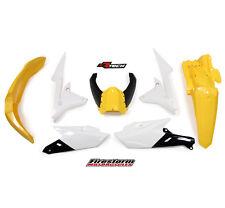New WR WRF 250 15 16 17 WRF 450 16 17 Plastic Kit MX Plastics Yellow Airbox