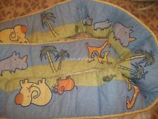 Carter's John Lennon Safari Jungle Musical Parade Imagine Crib bumper Pads Set