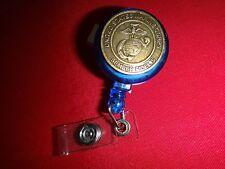 """US Marine Corps EGA Pocket ID Tag """"SEMPER FIDELIS"""""""