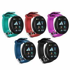 D18 Bluetooth Smart Watch Men Blood Pressure Round Smartwatch Women Sport