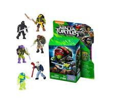 Teenange Mutant Ninja Turtles Mega Bloks Micro Figure (1 Supplied, Random Select