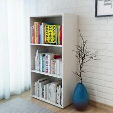 vidaXL Boekenkast Spaanplaat Wit Boekenkasten Opbergmeubel Boekenplank Kast