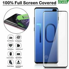 For Samsung Galaxy S10 Plus Tempered Glass Screen Protector Film 5D Curve