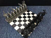 Lego Knight / Kingdom Chess Set / Genuine Lego Parts
