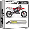 ARROW POT ECHAPPEMENT RACE ROUND ALUMINIUM HONDA CRM 125 1998 98