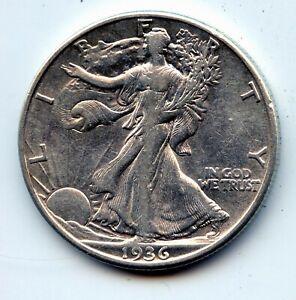 Walking Liberty half 1936-d (SEE PROMO)