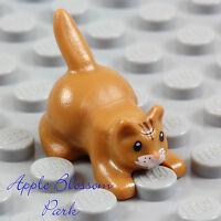 NEW Lego Minifig Pet Animal - LIGHT BROWN KITTEN - Harry Potter Cat - Mrs Norris