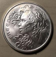 2018 Freedom Girl Silver Shield Silver Round Coin 1 oz .999 Fine Silver L-65