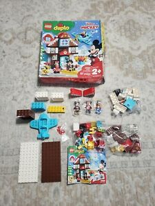 """LEGO Duplo: Mickey's Vacation House (10889) 57 Pcs Kit NEW """"PACKAGE DISTRESS"""""""