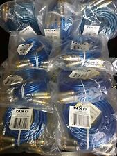 """SALE! NEW LOT OF 9 NXG PRO """"SAPPHIRE SERIES"""" VIDEO INTERCONNECTS, RoHS COMPLIANT"""