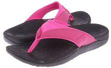 Comforthotics® Women's Connie Pink Sandal Comfort Flip Flop Orthotic Support