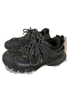 Balenciaga Black Track Trainers Mesh & Nylon Men's Size 11 US 44 EUR with Bag