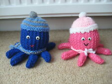 Carefully Hand Knitted Oliver & Olivia Octopus