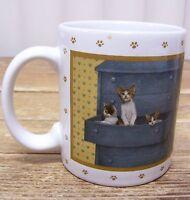 Vandor Cat Kitten Lowell Herrero Coffee Mug Cup 1988 Vintage