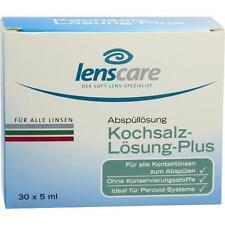 LENSCARE Kochsalzlösung Plus 30X5 ml PZN 1808715