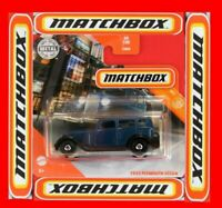 MATCHBOX 2020   1933 PLYMOUTH SEDAN   40/100   NEU&OVP