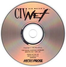 Sid Meier's  CIV NET - Erstausgabe 1995 MicroProse - PC Kult Klassiker