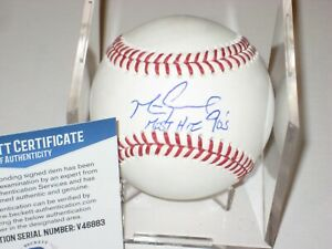 MARK GRACE (Chicago Cubs) Signed Official MLB Baseball + Beckett COA & Inscrip