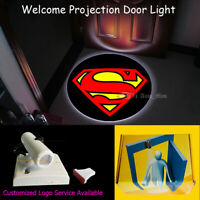 Superman Logo Wireless Welcome Door Light Home/Bar CREE LED Decorative Projector