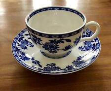 Minton Blue Delft coffee-/tea cup and saucer, excellent condition