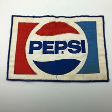 "Vintage Pepsi Large 6"" x 9"" Jacket Shirt Driver Patch Huge RARE  G4"