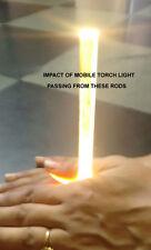ACRYLIC Sheet Rods Clear 6mm, Pack of 8 pcs DIY 1 Foot Long / 12 inch long