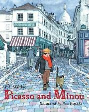 Picasso and Minou-ExLibrary