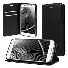 ECENCE Etui Portefeuille Noir pour Samsung Galaxy S7 (12020206)